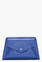 Proenza Schouler Royal Blue Leather PS13 Clutch
