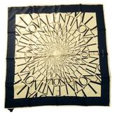Valentino White Silk Silk handkerchief