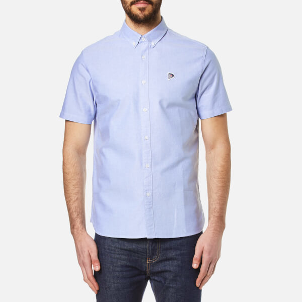Penfield Men's Danube Short Sleeve Shirt Blue