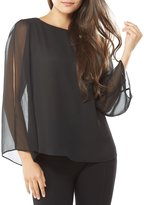 Peter Nygard Open Sleeve Blouse