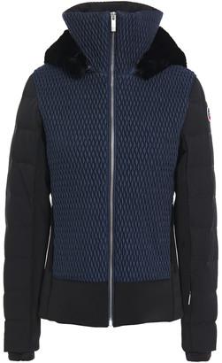 Fusalp Athena Faux Fur-trimmed Matelasse Ski Jacket