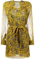 Etoile Isabel Marant printed wrap dress - women - Silk/Viscose - 38