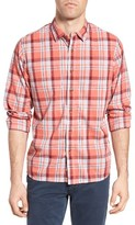 Grayers Men's Sandover Plaid Poplin Sport Shirt