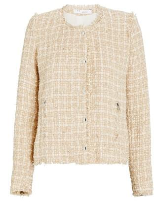 IRO Capri Collarless Tweed Jacket