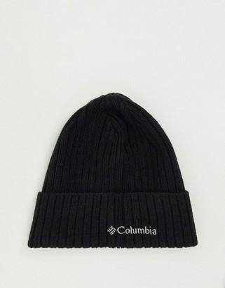 Columbia Watch cap beanie in black
