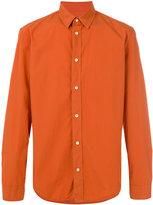 Maison Margiela classic long sleeve shirt - men - Cotton - 42