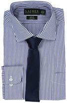 Lauren Ralph Lauren Bengal Stripe Spread Collar Slim Button Down Shirt