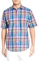 Bugatchi Men's Classic Fit Plaid Sport Shirt