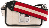 Sonia Rykiel Le Copain shoulder bag - women - Cotton/Leather - One Size