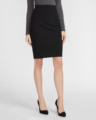Express High Waisted Soft & Sleek Pencil Skirt
