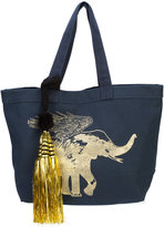 Figue flying elephant tote