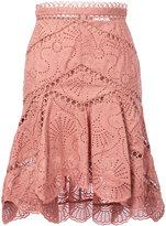Zimmermann broderie anglaise skirt - women - Cotton - 1