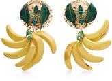 Dolce & Gabbana Resin Banana Earrings