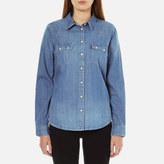 Levi's Women's Modern Sawtooth Relaxed Fit Shirt Ritter Vintage