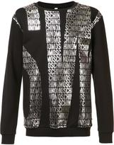 Moschino logo sweatshirt - men - Cotton - L