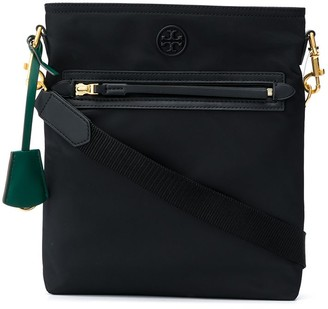 Tory Burch Perry logo patch shoulder bag
