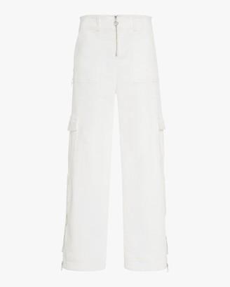 Jonathan Simkhai High Rise Belted Cargo Pants