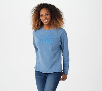 Life is Good Long-Sleeve Ex-Boyfriend Crusher Tee
