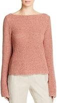 Theory Lalora Back Cutout Sweater