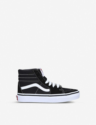Vans SK8-HI leather-canvas high-top trainers 4-8 years