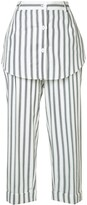 Monse striped skirt trousers