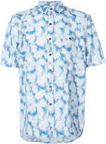 Michael Bastian button collar shortsleeved shirt