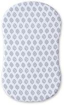 Halo HALOTM BassinestTM Muslin Sheet in Grey/White Leaf Print
