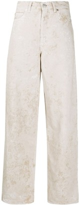 Our Legacy Full Cut high-rise wide-leg jeans