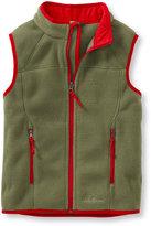 L.L. Bean Boys Trail Model Fleece Vest