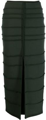 Maison Rabih Kayrouz Front Slit Skirt