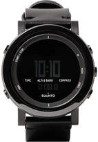 Suunto Essential Ceramic, Stainless Steel and Leather Digital Watch