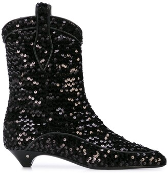 Laurence Dacade Vanessa sequin boots