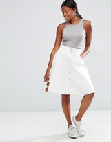 Vero Moda A Line Denim Skirt
