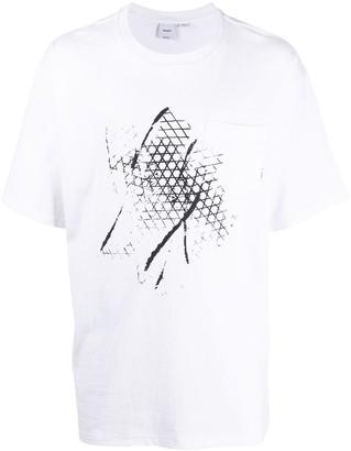 Vans waffle-print pocket T-shirt