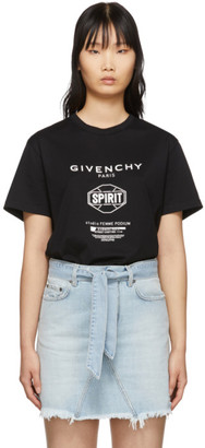 Givenchy Black Spirit T-Shirt