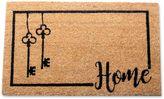 18-Inch x 30-Inch Home Keys Coir Door Mat