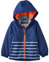Carter's Boys 4-7 Fleece-Lined Striped Jacket