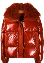 Thumbnail for your product : Yves Salomon Fur Collar Jacket