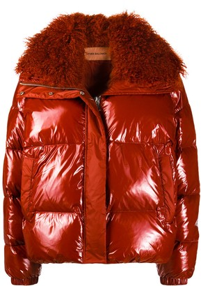 Yves Salomon Fur Collar Jacket