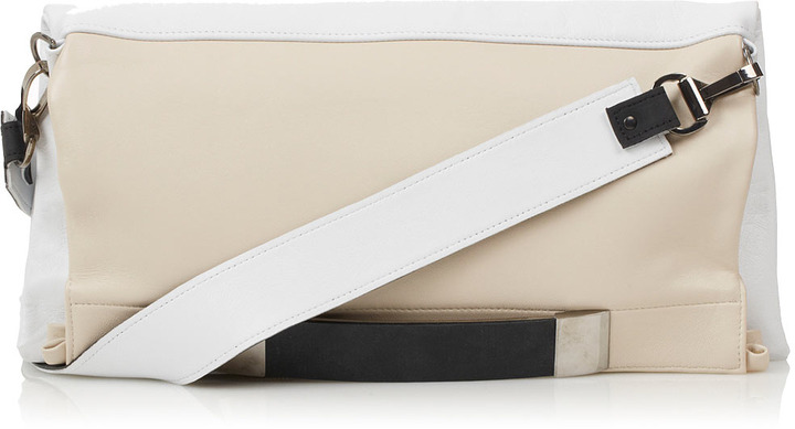 Topshop **Leather Clutch Bag by Unique