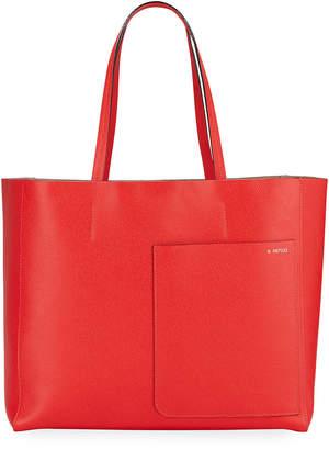 Valextra Borsa Shopping Tote Bag