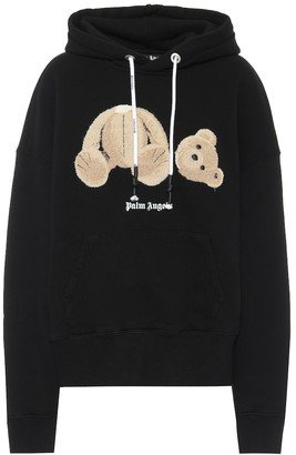 Palm Angels Bear cotton-jersey hoodie