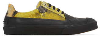 Dries Van Noten Multicolor Floral Canvas Low-Top Sneakers