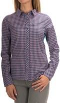 Icebreaker Terra Plaid Shirt - Merino Wool, UPF 20+, Long Sleeve (For Women)