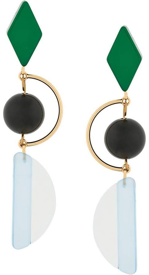 Marni hook earrings