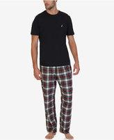 Nautica Men's Seashore Plaid Pajama Set