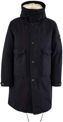 Stone Island Parka with detachable wool coat