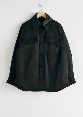 And other stories Oversized Padded Technical Jacket