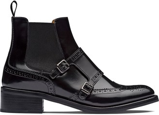 Church's Stella brogue Chelsea boots