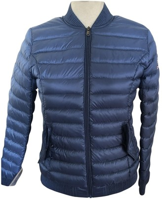 JOTT Blue Leather Jacket for Women